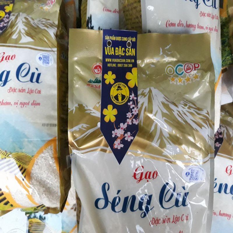 Gạo Séng Cù đặc sản Lào Cai